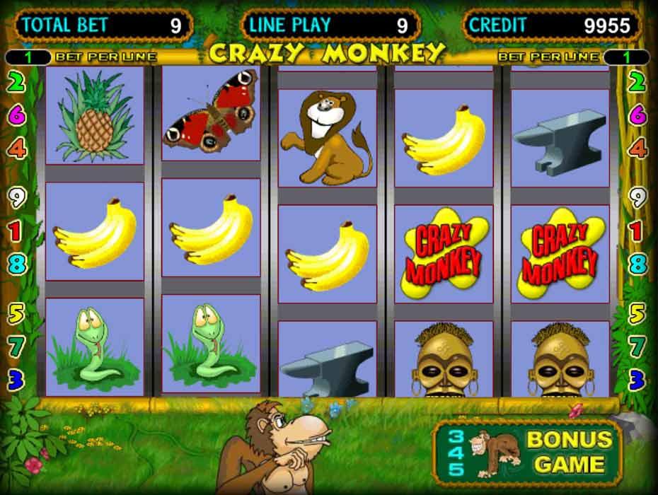 игра crazy monkey как играть